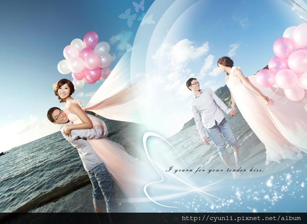 高雄新人婚紗照-拍照景點西子灣,群麗婚紗07-2363677