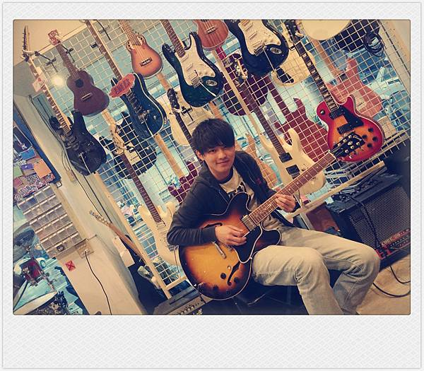 With Gibson ES-335.