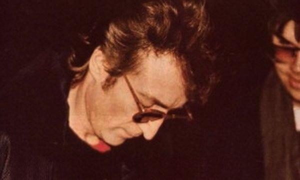 John Lennon last pic