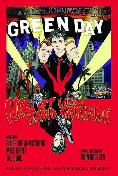 Heart like a hand grenade poster