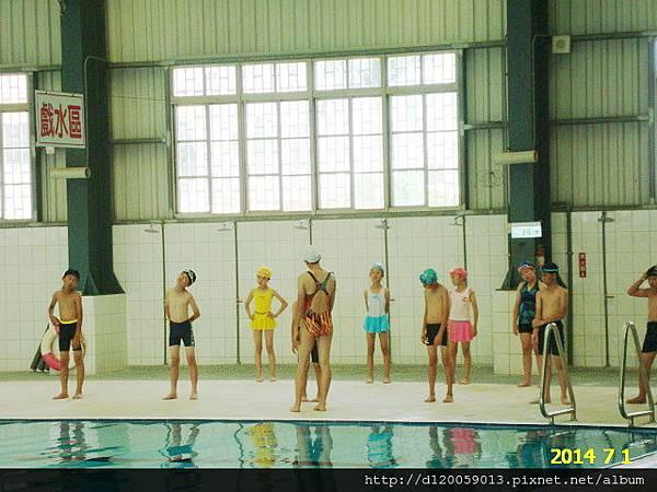 六甲國中游泳池