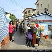 大內龍貓公車站彩繪村