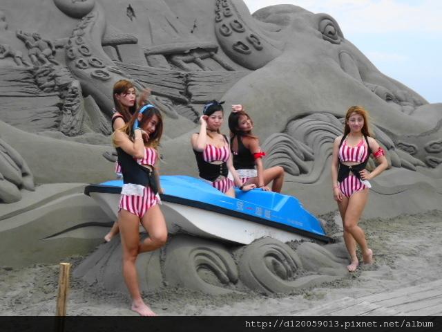 馬沙溝濱海遊憩區「一見雙雕藝術季」