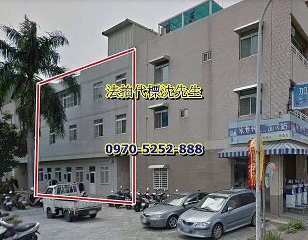 台南市仁德區德南路54巷8號(標1)、10號(標2)、12號(標3)、14號(標4)四間透天合併拍賣,分別標價鄰近德南國小中山高.jpg