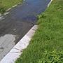 2011/7/6水管破裂漏水情形