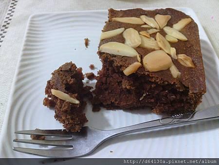 無奶蛋杏仁巧克力蛋糕