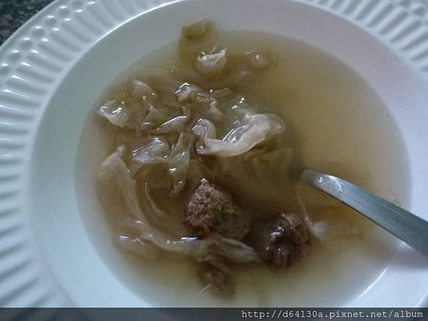 高麗酸菜湯