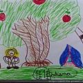 蘋果樹下露營