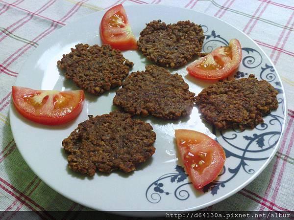 油炒素肉碎--快速煎素肉排