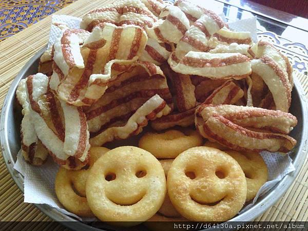 樹薯片+馬鈴薯塊