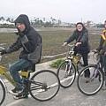 騎車前往關山醫院