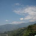 山上的雲很多變~
