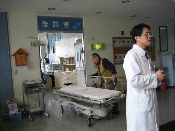 忙碌的急診室