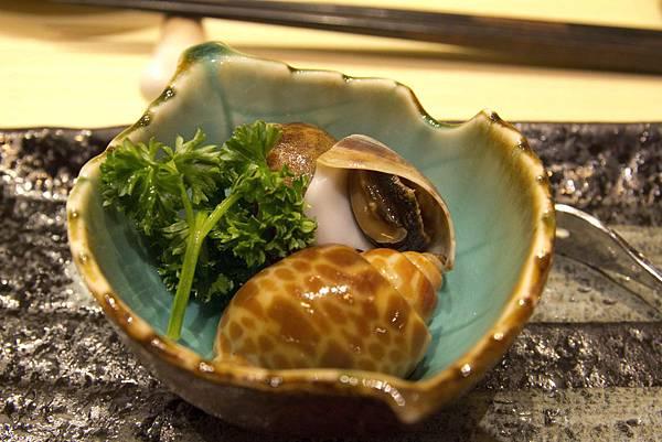 前菜三款 - 煮螺