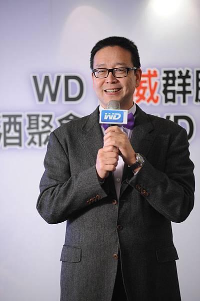 圖說二:WD台灣分公司總經理郭德麟分享WD 2014年展望
