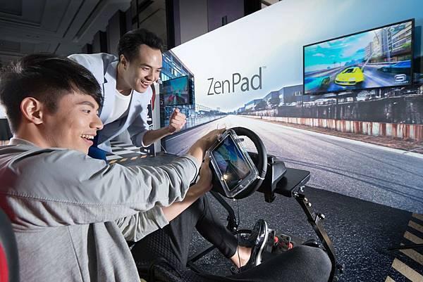 ZenPad S 8.0搭載64位元Intel Atom  Z3580處理器,亦是全球首款配備4GB RAM的8吋平板,當使用者執行需求條件最高的遊戲及應用程式時,能以極短的刷新等待時間獲致如閃電般的迅捷表現。