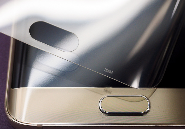 S6 edge plus 開箱、全機包膜、滿版保護貼-51
