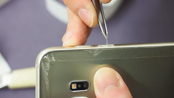 S6 edge plus 開箱、全機包膜、滿版保護貼-21