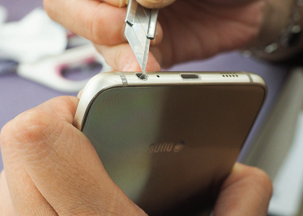 S6 edge plus 開箱、全機包膜、滿版保護貼-31