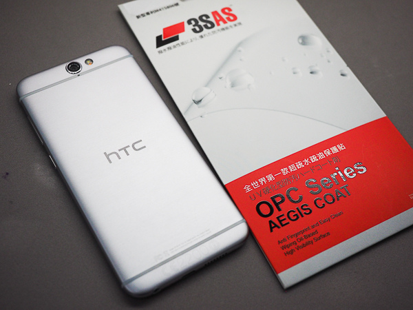 HTC A9 開箱、保護貼-89