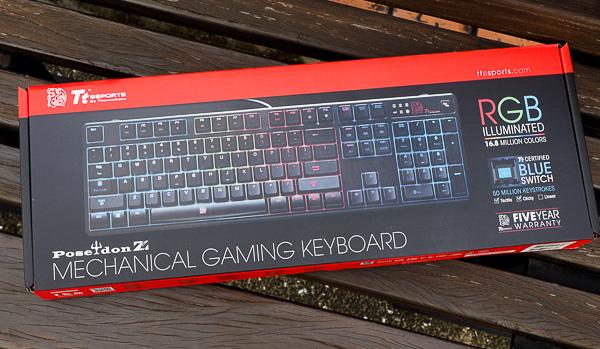 Tt RGB 機械式電競鍵盤-200