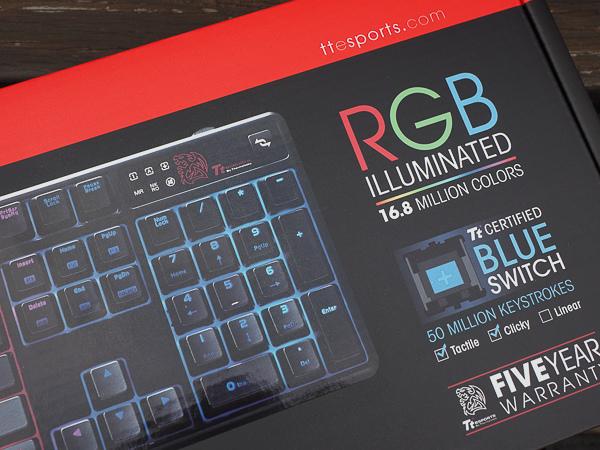 Tt  RGB 機械式電競鍵盤-202