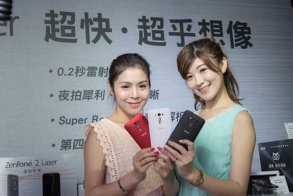 5.5吋ZenFone 2 Laser 搭載多項貼心功能與應用,為送給父母、長輩或孩子,年節、孝親贈禮的不二選擇