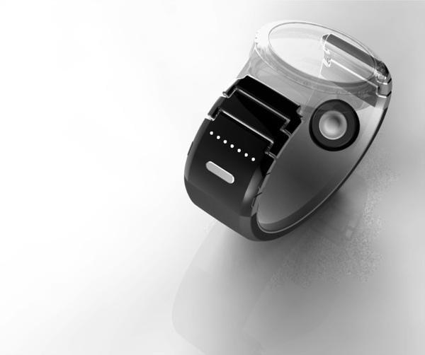 TipTalk外觀如同錶帶,可與類比或智慧手錶連結使用,並能與智慧手機協同運作