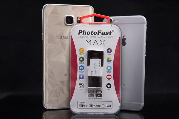 PhotoFast 蘋果microSD讀卡機-70