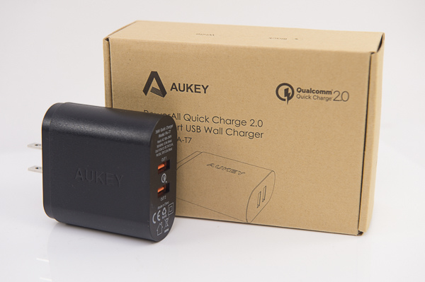 AUKEY QC2.0 USB Charger-17