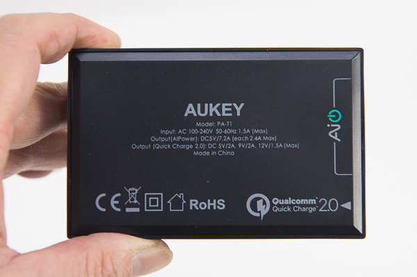 AUKEY 5 Port QC2.0 USB Charger-9