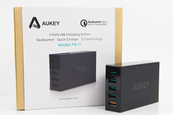 AUKEY 5 Port QC2.0 USB Charger-17