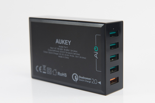 AUKEY 5 Port QC2.0 USB Charger-7
