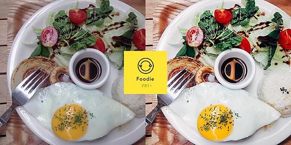 【圖一】LINE推出專拍食物的相機App「Foodie」