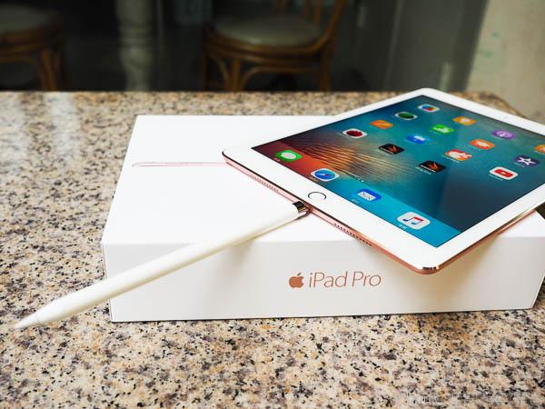 iPad Pro 9.7 玫瑰金新色+ Apple Pencil 超好用-96