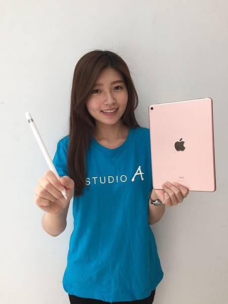 STUDIO A即起開賣iPad Pro 9.7吋,並推出「舊換新做公益」活動。