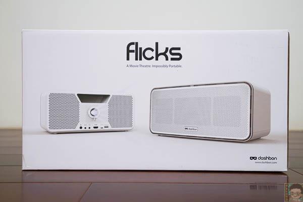 Flicks行動無線藍芽喇叭投影機-7