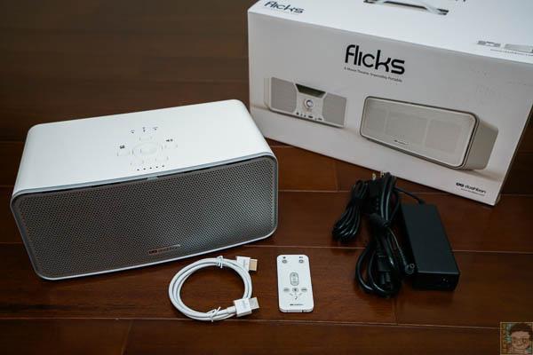 Flicks行動無線藍芽喇叭投影機-15
