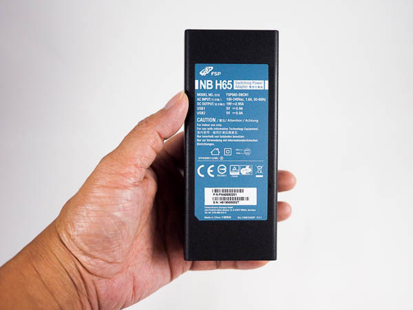 全漢FSP NB H系列《2合一》USB HUB+筆電萬用變壓器-14