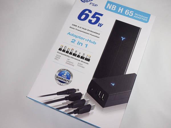 全漢FSP NB H系列《2合一》USB HUB+筆電萬用變壓器-6