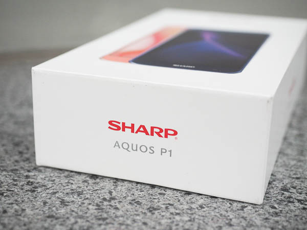 SHARP AQUOS P1 開箱-5