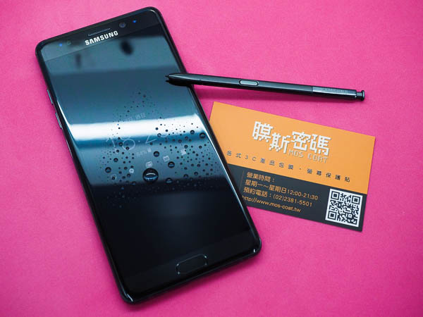 Note 7 全機包膜+imos Note7螢幕保護貼 @膜斯密碼-122