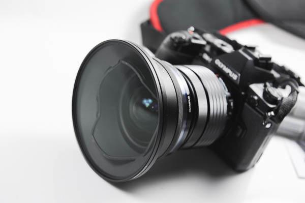 OLYMPUS 7-14 mm F2.8 PRO 專用遮光罩+UV 保護鏡、 STC 105mm CPL 偏光鏡、ND64 減光鏡 -61