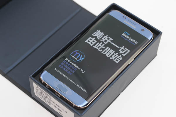 開箱 Galaxy S7 edge 冰湖藍-9