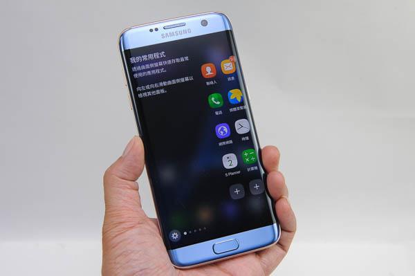 開箱 Galaxy S7 edge 冰湖藍-86