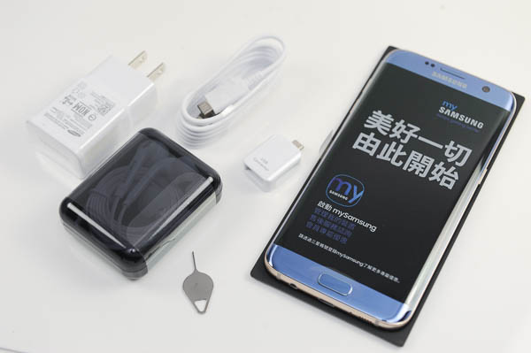 開箱 Galaxy S7 edge 冰湖藍-18