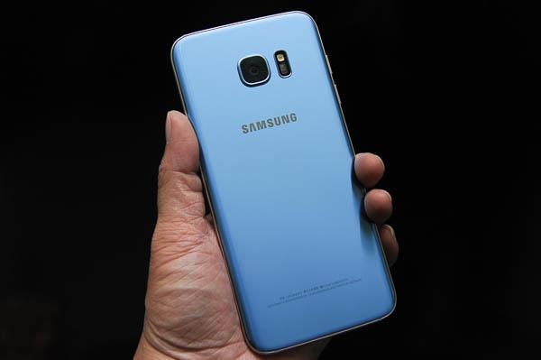 開箱 Galaxy S7 edge 冰湖藍-60