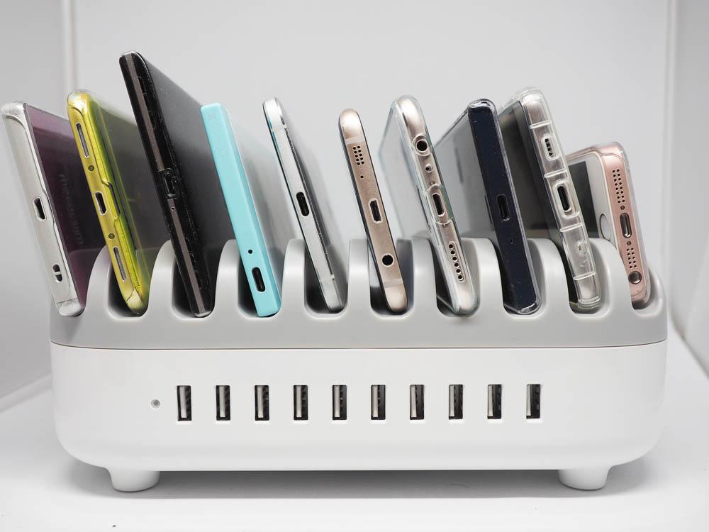 10支手機同時充電-ORICO DUK-10P-21