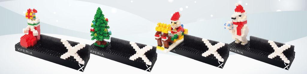 1. Sony Mobile行動通訊專賣店獻上Xmas購機好禮,邀你一起歡樂手作迎聖誕