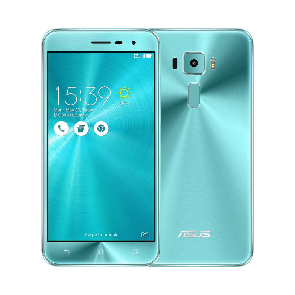 華碩與廣大消費者一同迎接聖誕,今日宣布新一代智慧型手機ASUS ZenFone 3全球限量版「湖水藍」新色耀眼登場!